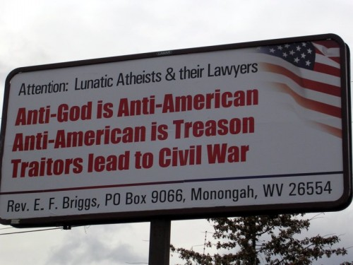 Traitorous billboard